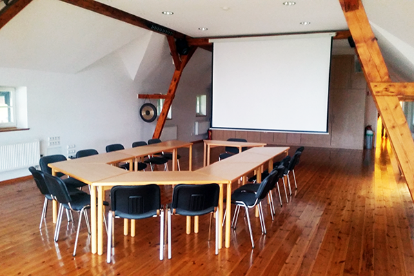 Seminarraum auf Gut Alte Heide